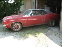 For Sale 1969 buick skylark custom convertible