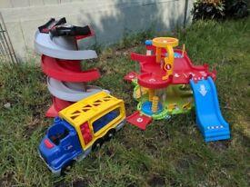 ELC Big City Car ramp, Toy Car Garage and truck