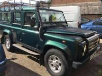Land Rover Defender Td5 110 county Station Wagon Low mileage