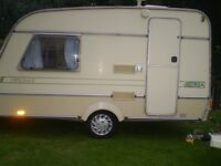 2 berth ace touring caravan