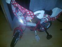 "12"" Minnie Mouse Kids Bike"