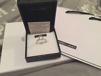 Real sliver ring