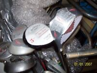 FOUR SETS OF GOLF CLUBS