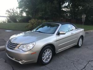 2008 Chrysler Sebring limited. cuir. bas kilos. impeccable