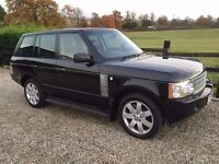 One Owner Range Rover TDV8 Automatic