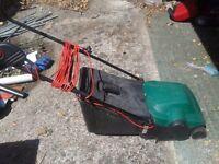 Qualcast cylinder mower Electric