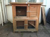 Guinea pig / rabbit hutch / cage