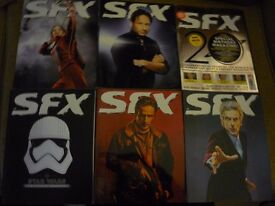 SFX COLLECTORS MAGAZINES