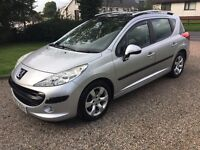 2008 PEUGEOT 207 1.4S SW ESTATE -- LOW INSURANCE -- HIGH MPG --