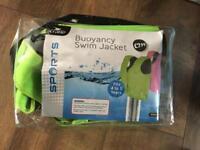 Buoyancy swim jacket