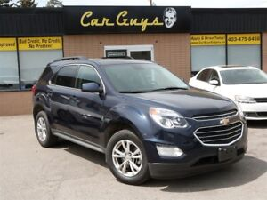 2017 Chevrolet Equinox LT - Remote, Nav, Cam, Sunroof, H. Seats