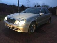 MERCEDES BENZ E270 AVANTGARDE DSG PANORAMIC ROOF HEATED SEATS TOP SPEC WELL MAINTAINED