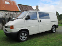 vw transporter t4 1999 Low mileage 2,5 petrol-Lpg gas,full years Mot