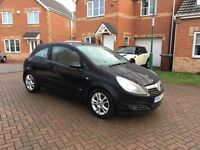 VAUXHALL CORSA SXI A/C BLACK, 1 LADY OWNER FROM NEW, MOT 11 MONTHS, HPI CLEAR
