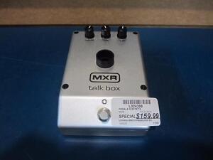 Pédale d'effet Talk Box de marque MXR