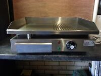 Fox Hunter 3kw electric stainless steel grill