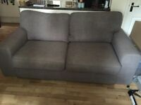 2 Seater sofa and one armchair in Slate Grey