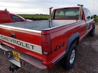 American Chevrolet Silverado 4x4 6.5td pick up truck not L200 or Shogun