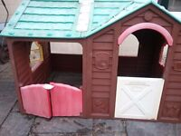 Used childrens outdoor playhouse