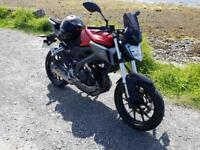 Yamaha mt125 abs 2015 great condition