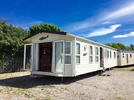 LUXURY STATIC CARAVAN HOLIDAY HOME SITED NORTH WALES COAST