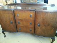 Large queen anne sideboard
