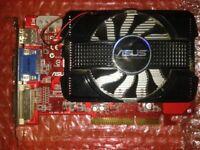 AH4650 DI 1GD2 A AGP Graphics card.