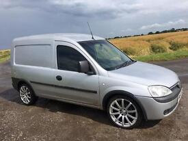 Vauxhall combo 54plate 1.7di 16v silver side loading door