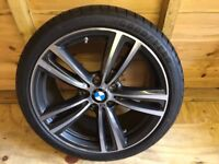 """New BMW 19"""" Alloys with Run Flat Tyres - Fit 3 & 4 Series"""