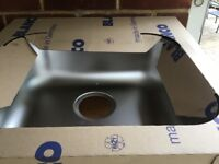 New blanco kitchen sink with new tap and all fittings