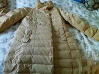 Ladies duck down /feather Lee Cooper coat, size 12,excellent condition