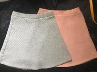 FOR SALE: multi-bye 2 ATMOSPHERE skirts SIZE 6 (by the tag)