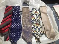 5 ties excellent condition