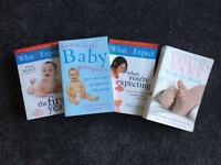 Four four baby books for sale in good condition