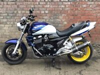 2002 SUZUKI GSX 1400 GSX1400 BLUE & WHITE
