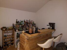 Handcrafted Pallet Bar Indoor/Outdoor