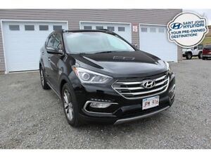 2017 Hyundai Santa Fe Sport LIMITED! LOADED! LEATHER! NAV! SUNRO