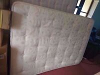 Orthopaedic Double Mattress in Very Good Condition - Free Delivery