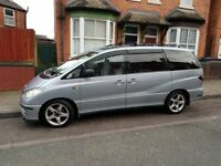 TOYOTA PREVIA CDX 7 SEATS HPI CLEAR *** PRICE REDUCED FROM £2000 ***