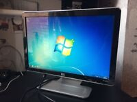 HP Pavilion w1907v LCD widescreen Monitor 20