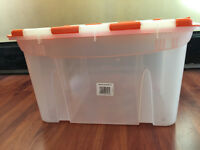 Two Big containers for storage (£13), home appliances/boxes house clearence/cheap