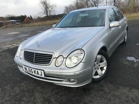 55 REG MERCEDES E320 CDI AVANTGARDE AUTOMATIC NOW ONLY £2499