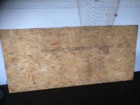 Brand new full plyboard sheet