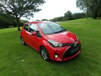 TOYOTA YARIS 1.4 D-4D ICON 5d 90 BHP (red) 2015
