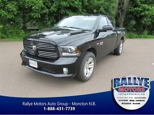 2013 Ram 1500 Sport! Back-up! Trailer Hitch! Heated! Leather! Tr