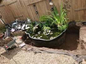 Blagdon Damselfly 1000 - Indestructa Preformed Pond