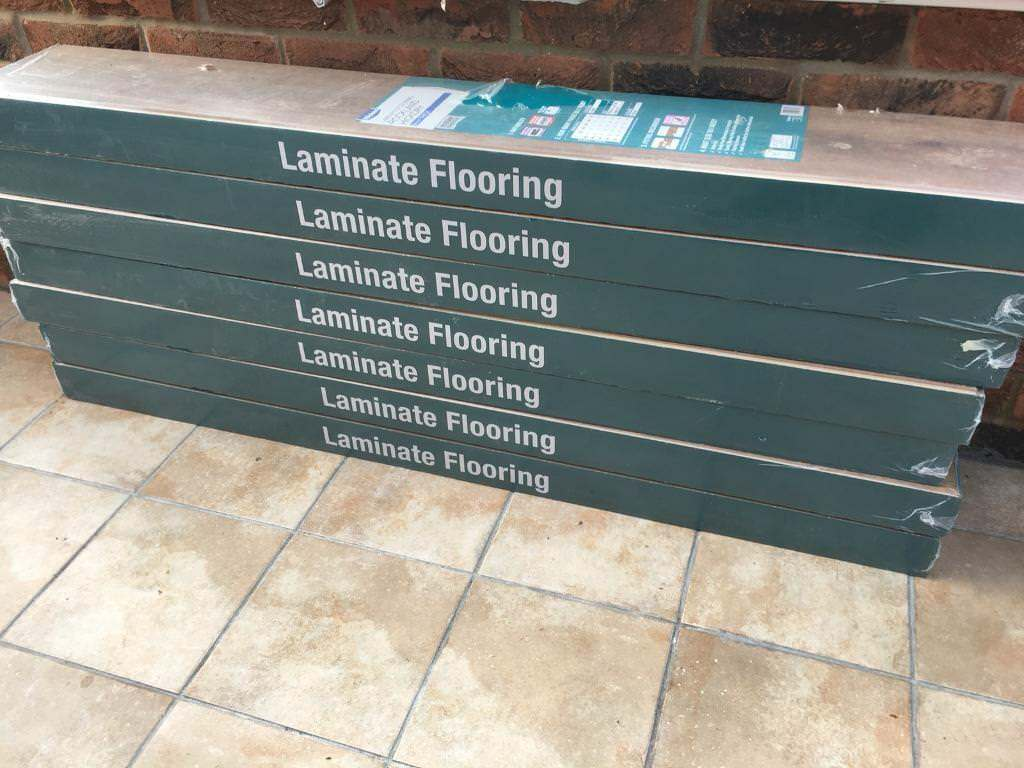 Wickes Laminate Flooring Rockland Hickory 8mm Thick