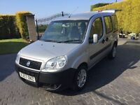 \\\ 07 FIAT DOBLO ACTIVE MPV \\\ ONLY 51K WITH FSH \\\ EXCELLENT CONDITION £2499 ,,