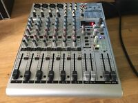 Behringer Eurorack UB1204FX-PRO 12-Input 2/2 Bus Mixer with Multi FX Processor