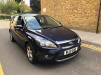 Ford Focus zetec 1.6 Petrol Automatic HPI clear 2010 with full mot histroy low miles 74k fsh
